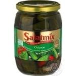 Vegetables cucumber Salatmix pickled 650g