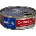 Сардини в томатном соусі Kaija 240г