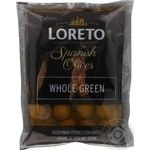 olive Loreto green with bone 200g