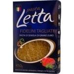 Вироби макаронні Вермішель Pasta Letta 450г