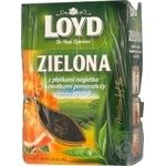 Tea Loyd Private import with calendula green 80g