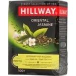Чай Hillway зелений байховий Oriental Jasmine листовий 100г/12