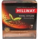 Чай Hillway чорний байховий цейлонський Royal Ceylon пакетований 2г/100/12