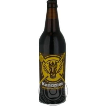 Kanapinis unfiltered dark beer 5,3% 0,5l - buy, prices for Novus - image 2