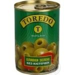 olive Toredo green pitted 300ml