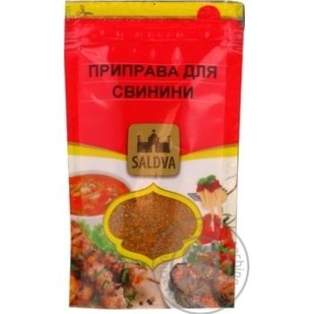 Spices Saldva Private import to pork 35g - buy, prices for Novus - image 1