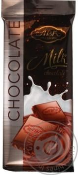 Шоколад молочный АВК 24% молока 90г