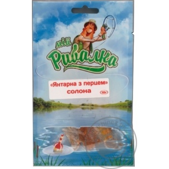 Snack My fishman Succinic pepper salt 18g