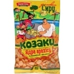 Snack peanuts Lider sneck Kozaky with taste of cheese salt 80g