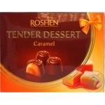Цукерки Рошен Tender Dessert caramel 121 г
