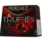 Цукерки Truffles Cognac Pergale 200г