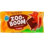 Печенье Roshen Zoo-boom с какао 68г