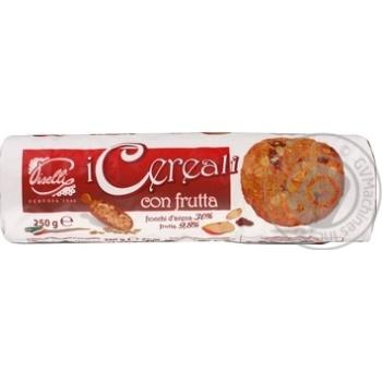 Печенье Piselli овсяное с фруктами 250г