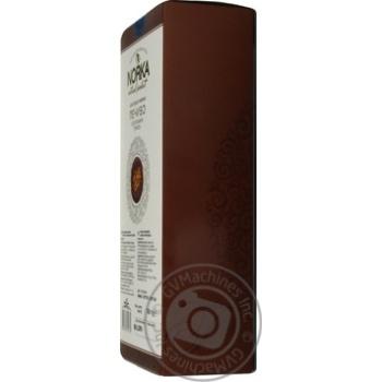 Печенье Norka Шоколадно-кофейное с грецким орехом 180г - купить, цены на Novus - фото 3