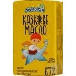 Масло Молокія Сказочное бутербродное 67%фол 200г