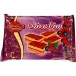 Sponge cake Domashne sviato with berries 160g