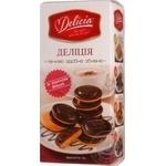Печенье Делиция сдобное со вкусом вишни 135г