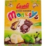 Цукерки Касалі Шоколадні банани Манкі Епл Casali 140г