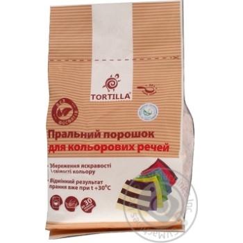 Стиральный порошок Tortilla Еко для цветных вещей 1,5кг
