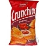 Чіпси картопляні зі смаком соусу барбекю Crunchips 75г
