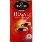 Кава натуральна смажена мелена Planteur Regal 250г