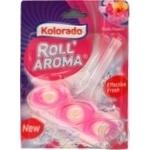 Туалетний блок Kolorado Roll Aroma, Exotic flowers 51г