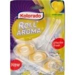 Туалетний блок Kolorado Roll Aroma, Cristal Lemon 51г