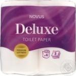 Toilet paper Novus white