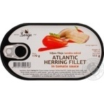 Fish herring Banga Private import in tomato sauce 170g