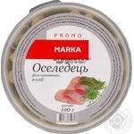 Сельдь Marka Promo филе-кусочки в масле 180г