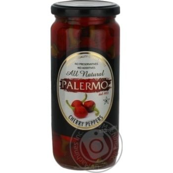 Vegetables pepper cherry tomatoes Palermo pasteurized 500ml