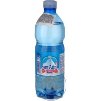 Вода Sant'Anna минеральная сильногазированная природная столовая 0,5л