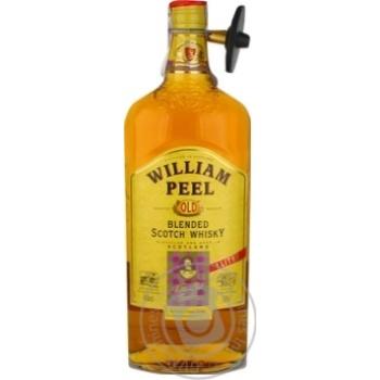 William Peel Whisky 40% 1l