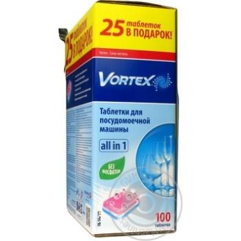 Таблетки для посудомойной машины Vortex All in 1 100шт/уп - купить, цены на ЕКО Маркет - фото 3