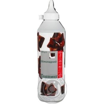 Наполнитель Топпинг шоколадный 600г