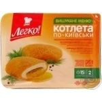 Legko po-kyyivsʹky frozen precooked cutlet 290g