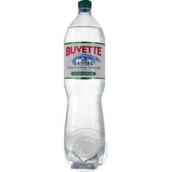 Вода Buvette минеральная слабогазированная 1,5л - купить, цены на Метро - фото 1