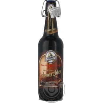 Пиво Monchshof Schwarzbier 0,5л x4