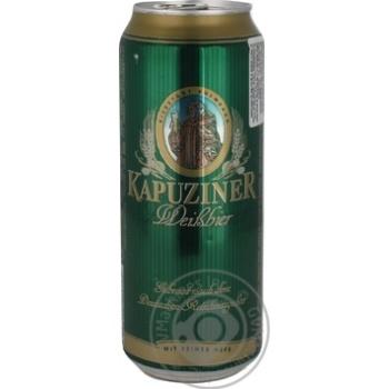 Скидка на KAPUZINER ПИВО ПШЕНИЧНЕ Ж/Б 0,