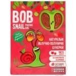 Конфеты Bob Snail яблочно-клубничные натуральные 120г