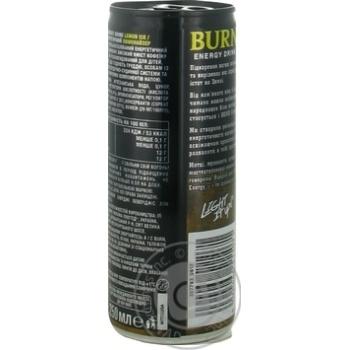 Напиток энергетический Burn Лимонайзер безалкогольный 0,25л - купить, цены на Novus - фото 4