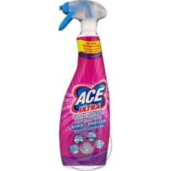 Відбілювач спрей Ace Ultra Spray Cu Spuma Fresh 700мл
