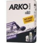Піна д/г Arko Sensitive 200мл +Бальзам п/г Sensitive 150мл - купити, ціни на МегаМаркет - фото 4