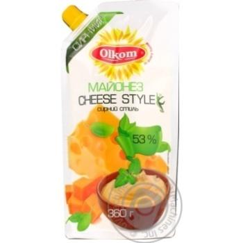 Mayonnaise Olkom Cheese 53% 360g