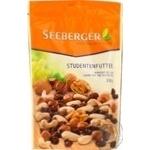 Смесь отборных орешков и изюма Seeberger Студенческая смесь 150г