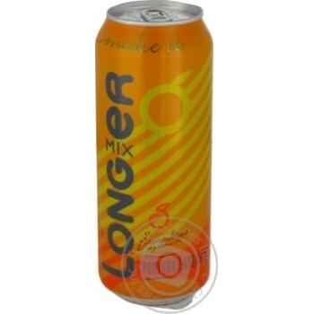 Лонгміксер 8,5% 0,5 сидр міцний солодкий газований білий за роматом апельсину