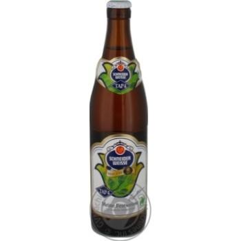 Пиво Schneider Weisse TAP4 Mein Festweisse светлое 0,5л