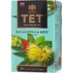 Чай черный ТЕТ Эвкалиптово мятный конверт 20*2г/уп