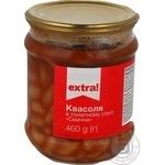 Vegetables kidney bean Extra! in tomato sauce 460g glass jar