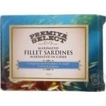 Fish sardines Premiya select canned 115g